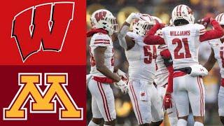 #12 Wisconsin vs #8 Minnesota Highlights | NCAAF Week 14 | College Football Highlights