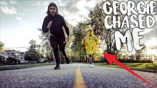 """I WENT BACK TO THE SEWER AND GEORGIE CHASED ME! 