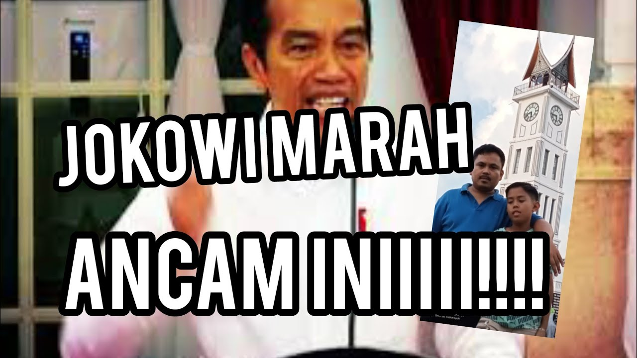 Jokowi Marah Ini Yang Saya Tunggu Youtube