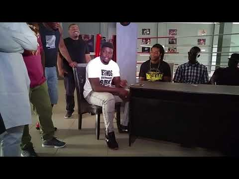 Alpha Male Sports Entertainment   Press Confrence part 2 (Boxers Interview)