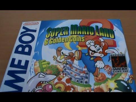 Super Mario Land 2: Six Golden Coins GB Unboxing