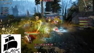 Black Desert Archer gameplay - В гостях у Insane (плотное рубилово)
