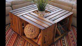 Стол из ящиков - Table of boxes