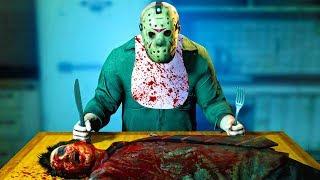 ОБЫЧНЫЙ ОБЕД ДЖЕЙСОНА! (The Friday 13th: The Game)
