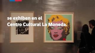 """""""Andy Warhol, Icono del Arte Pop"""" en el Centro Cultural La Moneda"""