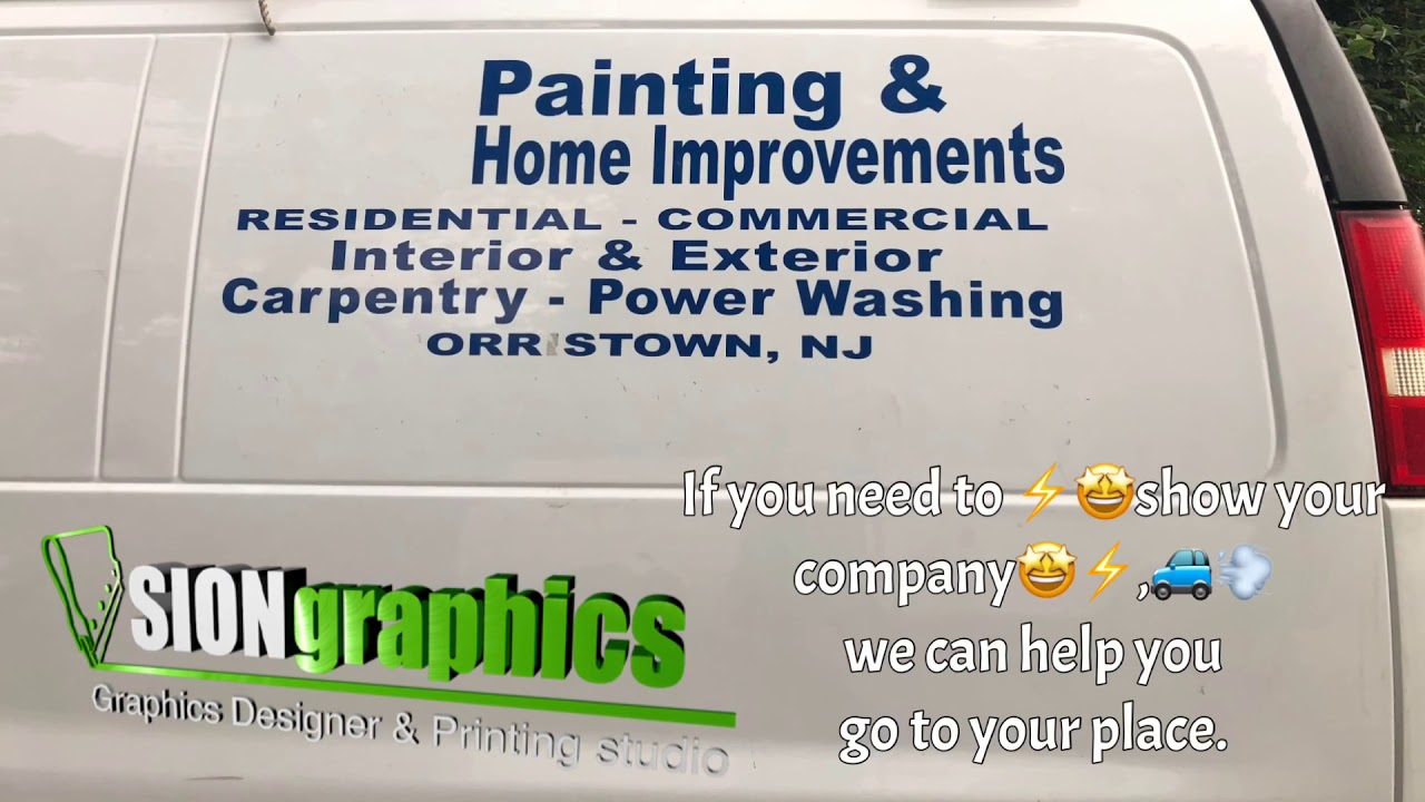 How to install decal commercial - SIONGRAPHICS