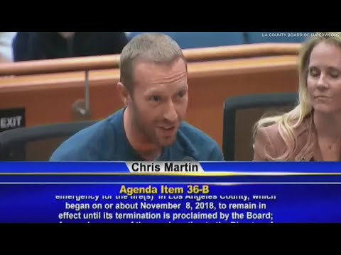 Chris Davis - Coldplay's Chris Martin Asks For Help