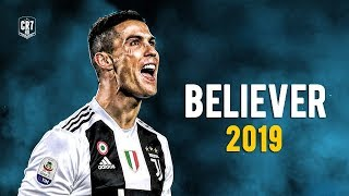 Cristiano Ronaldo - Believer 2019 | Skills & Goals | HD MP3