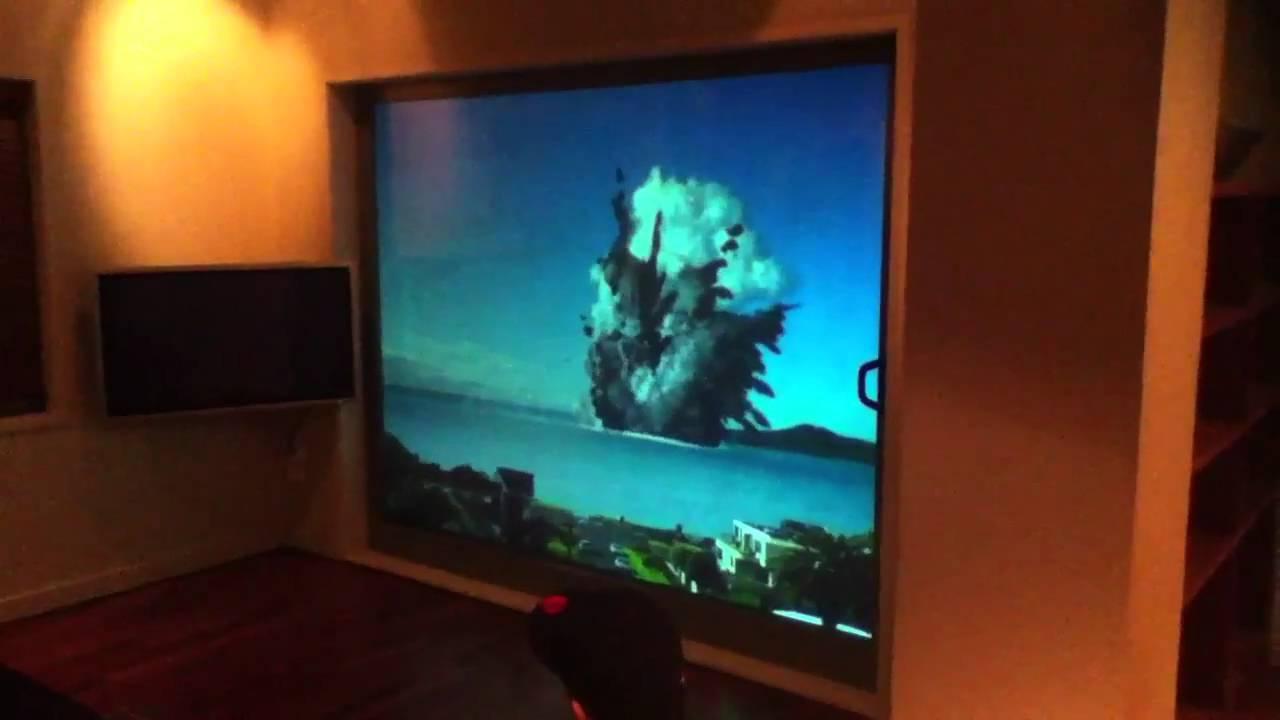 Volcano eruption simulation - YouTube