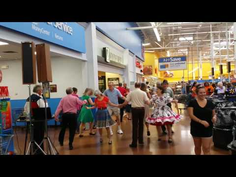 Urbana Ohio Walmart Flash Square Dance