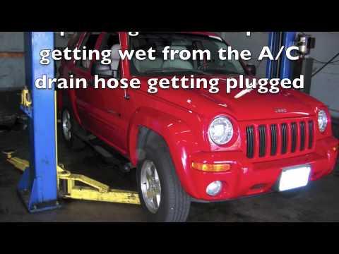 Jeep A C Drain Hose Youtube