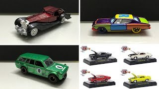 2018 Hot Wheels Cars images plus Upcoming M2 Machines set