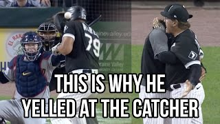 La Russa yells at catcher after Jose Abreu is hit in the head, a breakdown