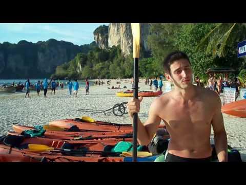 Пляж Рейли и катание на каяках - обзор цен. Таиланд
