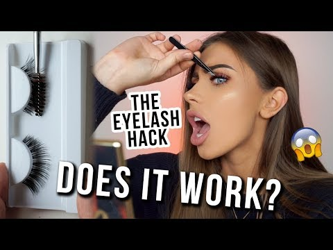 VIRAL MAKEUP HACK: Turn ANY Cheap Lash Into An EXPENSIVE AF WISPY | DOES IT WORK!?