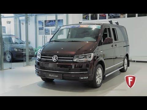 Тест-драйв Volkswagen Multivan T6: Видеообзор нового Фольксваген Мультивен 2017-2018 FAVORIT MOTORS