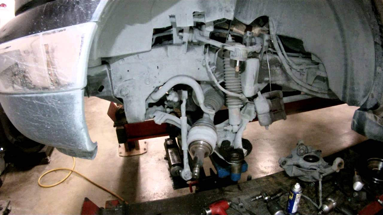Ford F150 Upper Control Arms Lower Ball Joints Replace  YouTube
