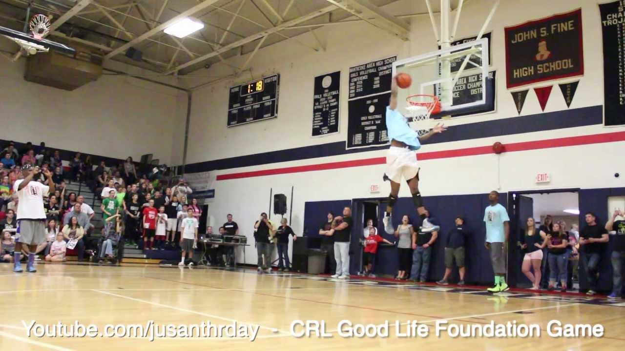 Incredible Soccer-Inspired Alley-Oop - ESPN - CRL Good Life Foundation - LL6