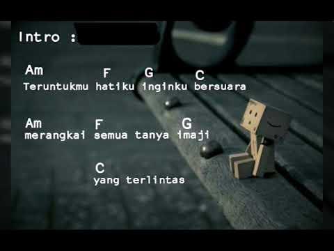 Kunci Gitar Anda ~ Tentang Seseorang