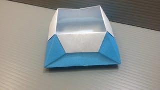 Daily Origami: 040 - Trapezoid Box