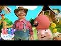 Čika Pera Ima Farmu - Edukativne pesme za decu | HeyKids
