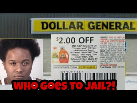 Coupon Fraud - Who Goes To Jail
