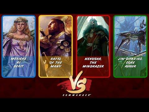 Commander VS S10E3: Merieke vs Rafiq vs Nekusar vs Jin-Gitaxias