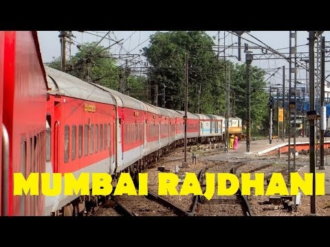 Full Journey Compilation : Mumbai Rajdhani Express INDIAN RAILWAYS