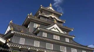Okayama castle and garden