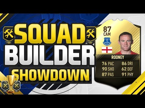 THE SQUAD BUILDER SHOWDOWN CUP INFORM WAYNE ROONEY Game 3 Vs Reev