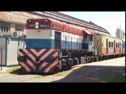 Trenes Argentinos - GR12-6609 en Retiro 1/2 (07-11-2015)