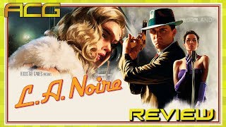 "L.A. Noire Remastered Review ""Buy, Wait for Sale, Rent, Never Touch?""  XBOX X Version"