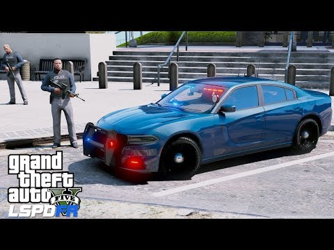 GTA 5 LSPDFR Police Mod #596 Detective Ace Is On The Case - LS Noir #2 Serving An Arrest Warrant