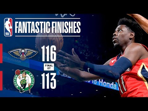 Best Plays From The Overtime Thriller In TD Garden: Boston Celtics vs New Orleans Pelicans