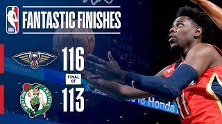 Best Plays From The Overtime Thriller In TD Garden: Boston Celtics vs New Orleans Pelicans
