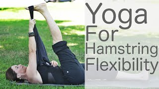 15 Minute Yoga for Hamstring Flexibility With Fightmaster Yoga