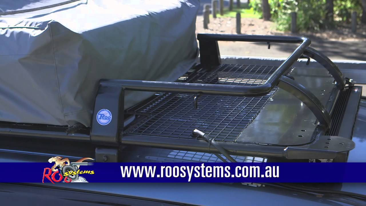 4wd Roo Systems Products Roof Rack Youtube