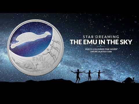 Star Dreaming - Emu in the Sky - Uncirculated Silver Coin
