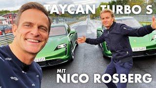 Nico Rosberg x Matze Malmedie   Nordschleife exklusiv!   Zwei Taycan Turbo S   Ein echtes Rennen?