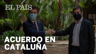 ACUERDO en CATALUÑA | ERC y JUNTS se reparten el  GOVERN y habrá INVESTIDURA