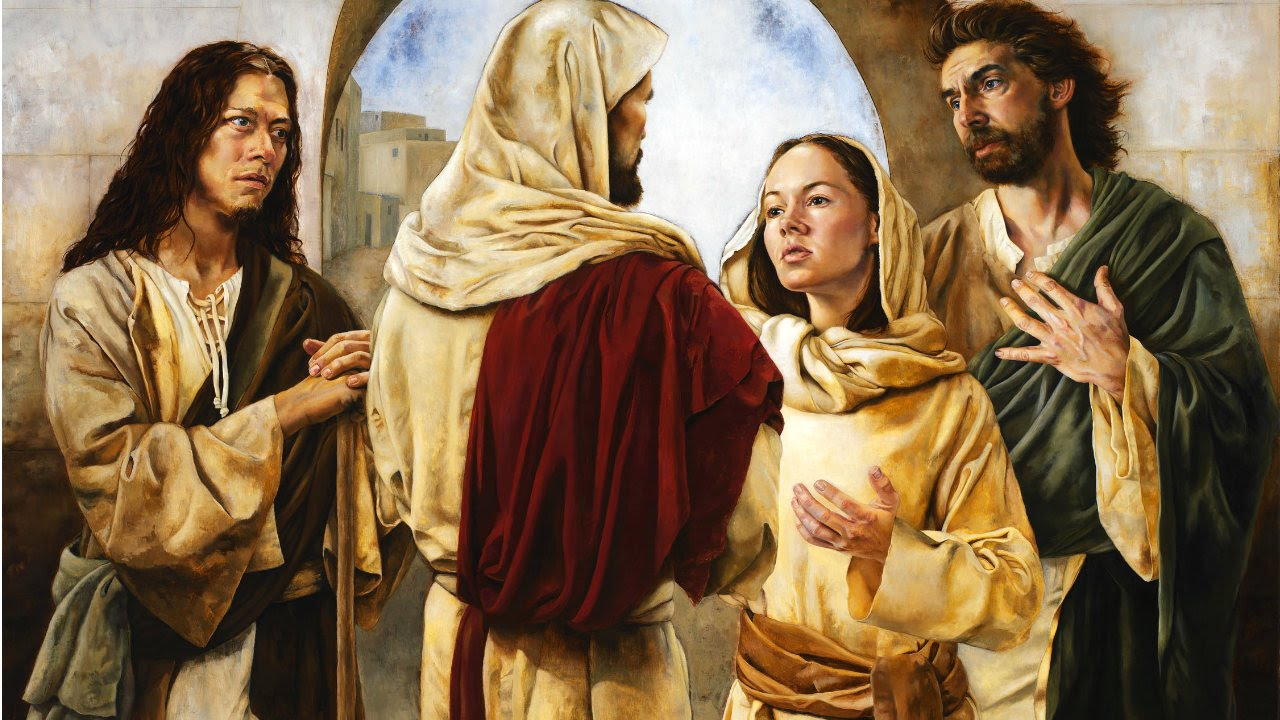 Image result for st martha, mary and lazarus