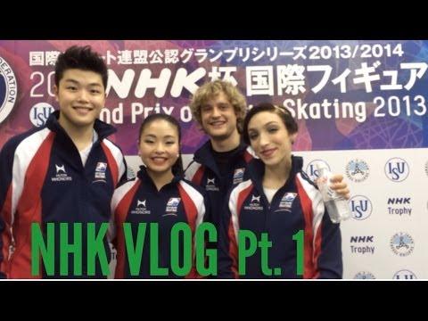 McDonald's, Purple Nurple, and Domo - 2013 NHK Trophy Pt. 1 (Vlog #4)