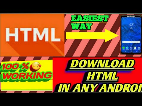 How To Use HTML😘|in Any Android Phone😎|learn Html In Phone😍|for Free|100% Working😊|Run Htnl In P