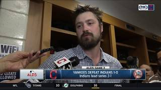 Andrew Miller reacts to giving up rare home run to Greg Bird | Indians vs. Yankees | ALDS GAME 3