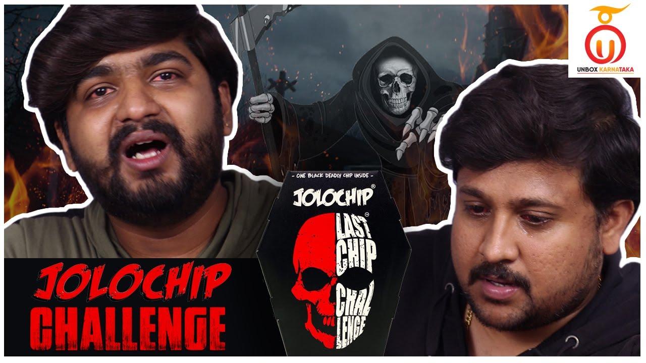 JOLO CHIP Challenge Kannada | Worlds Hottest Chips | Unbox Karnataka