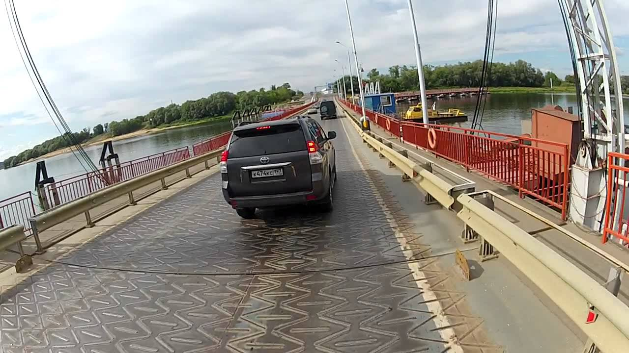 фото мост понтонный