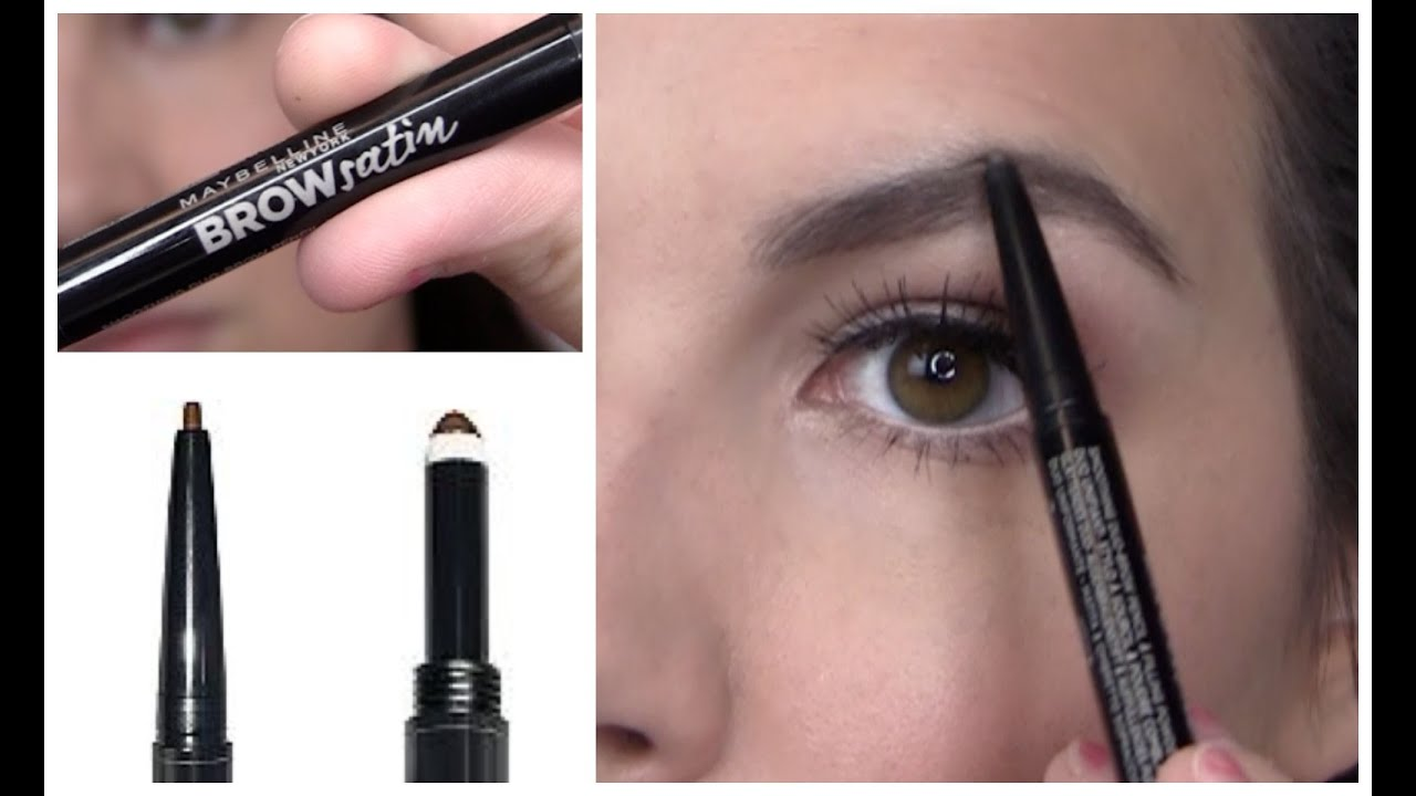 Maybelline brow satin review youtube for Maybeline tattoo brow