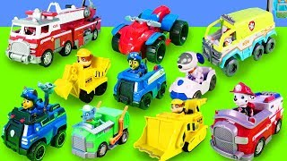 PAW Patrol Unboxing: Spielzeugautos von Ryder, Chase, Skye & Rubble | Paw Patroller, Mission Cruiser