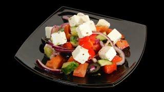 """Салат """"Греческий"""". Пошаговый фоторецепт. Greek Salad."""