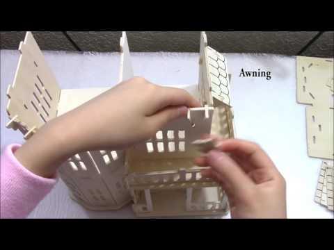DIY Mini Dollhouse ¦ DIY Wood Two Floor Dollhouse Construction